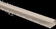 """Сайдинг Планка """"J - trim"""", 3000 мм, цвет Бежевый"""